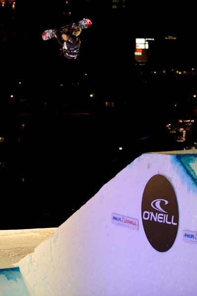 O'Neill Evolution 2013: Big Air.  Foto: 2013 TEAM O'NEILL INTERNATIONAL BV