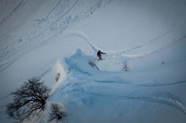 Freeride World Tour Courmayeur 2013.  Foto: freerideworldtour.com/DCARLIER
