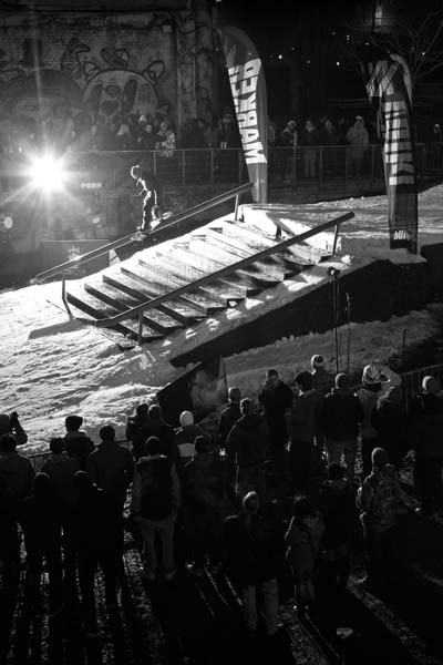 Battle in the Arena: Rail-Jam.  Foto: Simon Vanhal