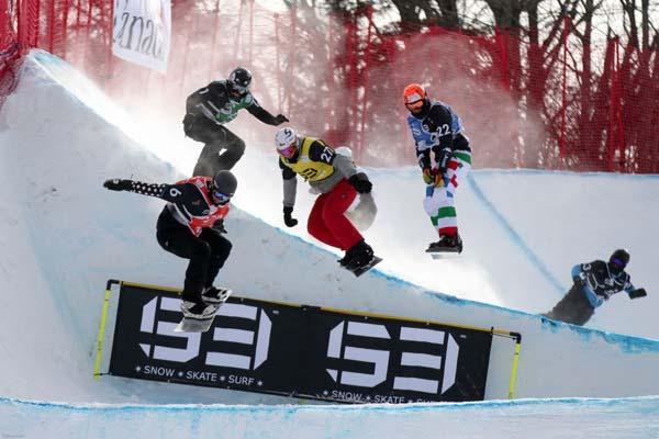 Snowboard WM Kanada 2013.  Foto: Oliver Kraus