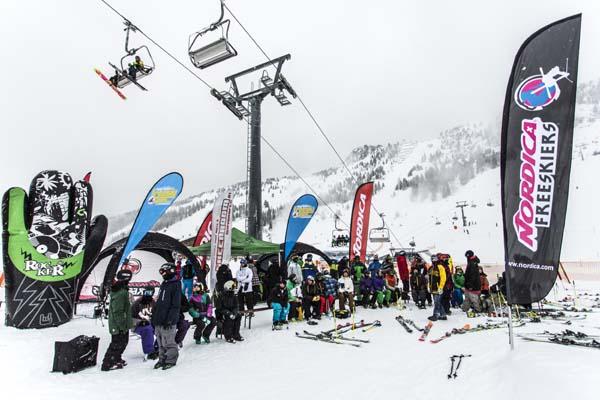 Mayrhofen Freeski Open 2013.  Foto: Christoph Schoech