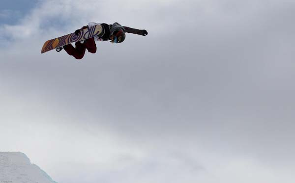 FIS Snowboard World Cup Park City 2013.  Foto: Oliver Kraus