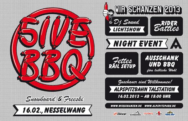 Wir Schanzen 2013: 5ive Barbeceue Foto: Veranstalter