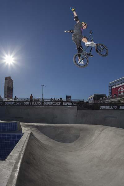 Ryan Nyquist bei den X Games.  Foto: Christian Van Hanja / ESPN Images