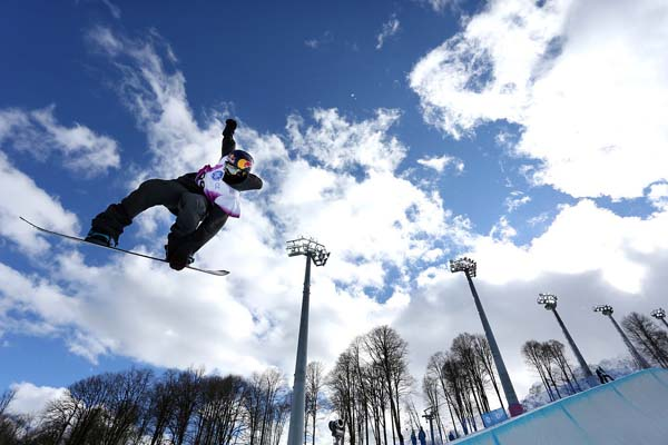 FIS Snowboard World Cup Sochi: Halfpipe.  Foto: GEPA pictures/Daniel Goetzhaber