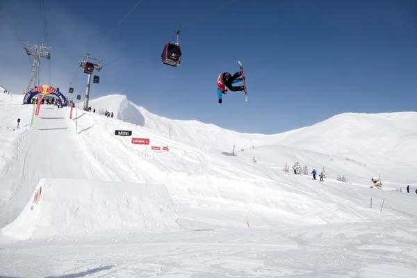 Offene Deutsche Snowboard Meisterschaft Oberstdorf.  Foto: Michi Lehmann/Red Bull Content Pool