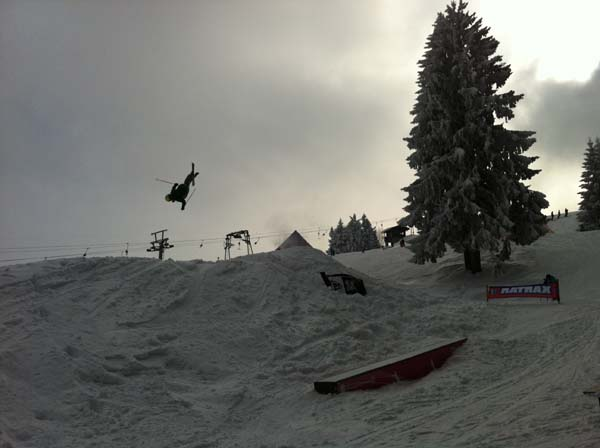 Sunny Hills Snowboard Tour 2013: Eschbach.  Foto: Veranstalter
