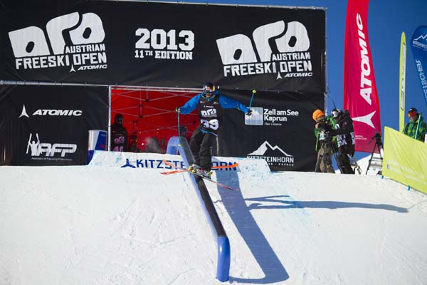 Austrian Freeski Open 2013.  Foto: Tom Bause