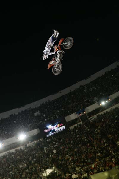 Red Bull X Fighters Mexico City 2009.  Foto: Flo Hagena/Red Bull Content Pool