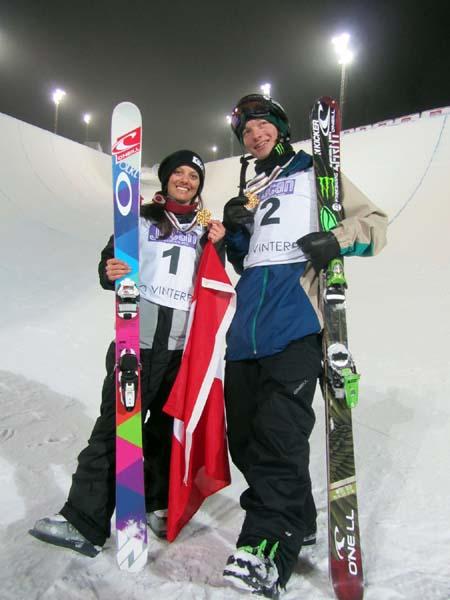 FIS World Championship Halfpipe 2013.  Foto: © FIS Voss/Oslo Freestyle World Ski Championship