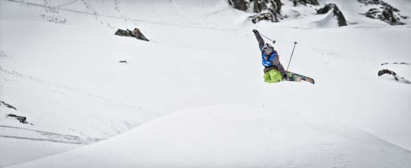 Open Faces Freeride Series 2013: X Over Ride Kitzsteinhorn.  Foto: Maria Knoll