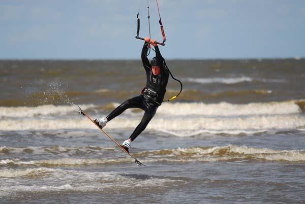 Kitetraining beim Keiksurfer.  Foto: Veranstalter