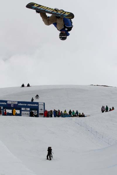 FIS Snowboard World Cup Sierra Nevada 2013.  Foto: Oliver Kraus