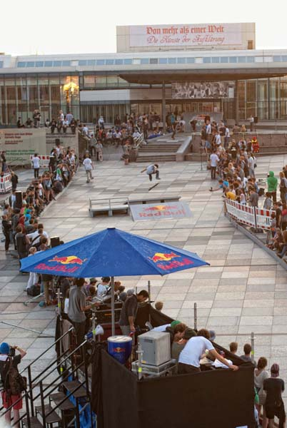 Red Bull Bomb the Line.  Foto: Helge Tscharn/Red Bull Content Pool