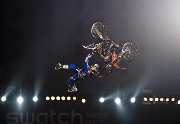 Josh Sheehan bei den Red Bull X-Fighters.  Foto: Predrag Vuckovic/Red Bull Content Pool
