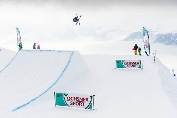 Swisscom Freeski Tour 2013.  Foto: Ruedi Flück