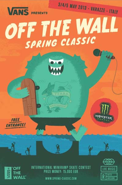 Vans Off The Wall Spring Classic 2013.  Foto: Veranstalter