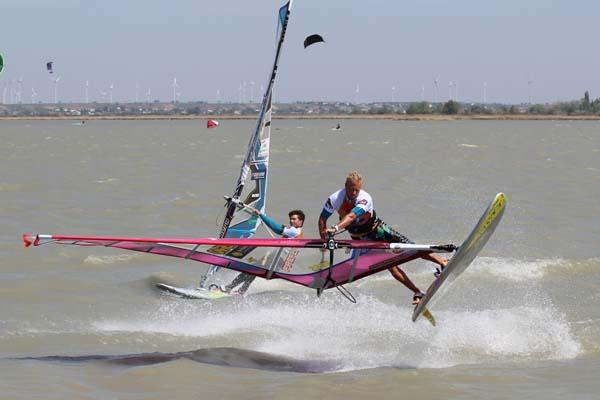 Surf World Cup Podersforf.  Foto: Walter Kölbl