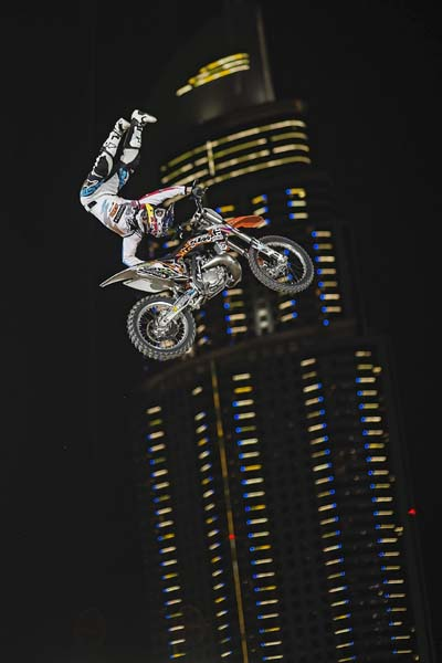 Red Bull X-Fighters Dubai 2013: Qualifying.  Foto: Jörg Mitter/Red Bull Content Pool