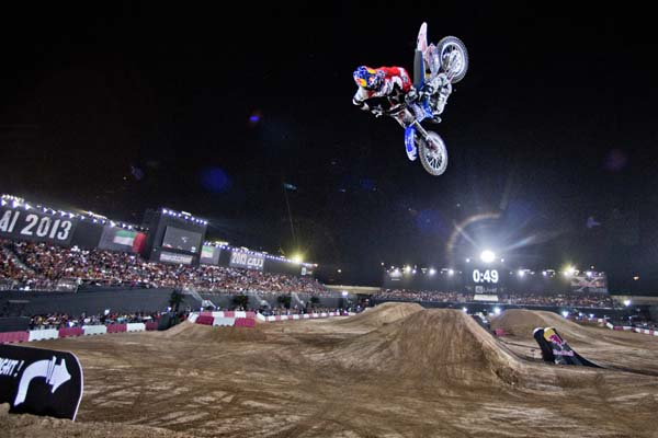 Red Bull X-Fighters Dubai 2013.  Foto: Daniel Grund/Red Bull Content Pool