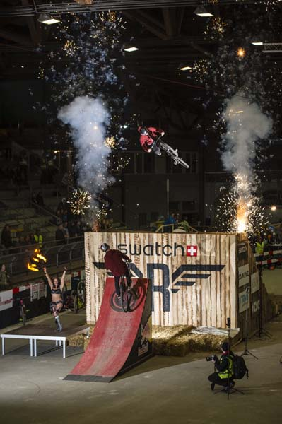 Rocket Air Slopestyle 2013.  Foto: Andre Maurer