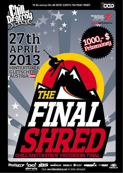 Cad 2013: Final Shred.  Foto: Veranstalter