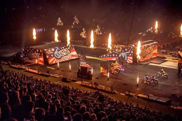 Nitro Circus Live 2012.  Foto: Jano Schurgers