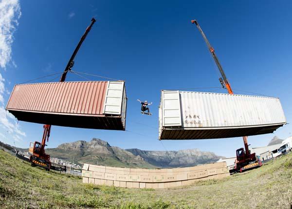 Jean-Marc Johannes: Gap-Jump.  Foto: Kolesky/Nikon/Red Bull Content Pool