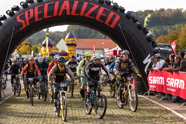Enduro Series Treuchtlingen 2012.  Foto: Thomas Dietze