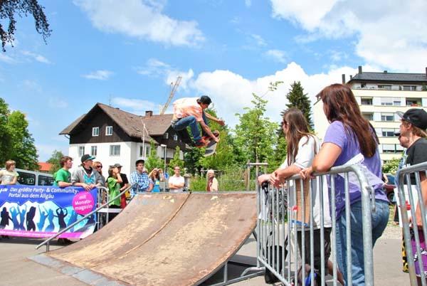 Sunny Hills Skateboard Tour.  Foto: Veranstalter