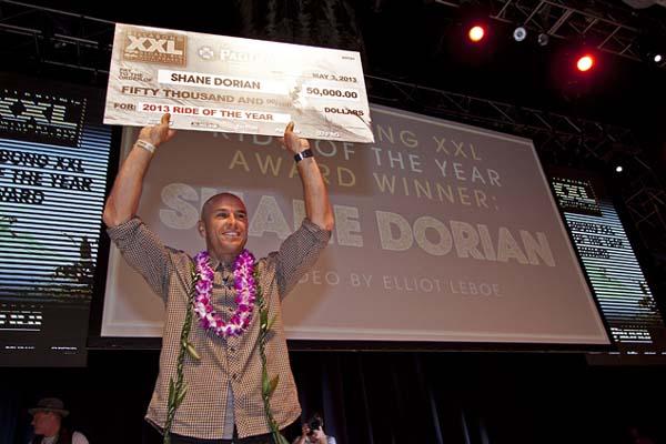Billabong XXL Awards 2013: Shane Dorian.  Foto: BillabongXXL.com