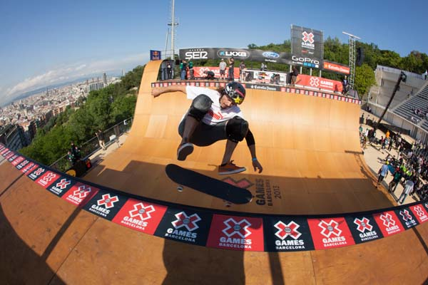 X Games Barcelona 2013: Skateboard Vert Finale.  Foto: Matt Morning / ESPN Images