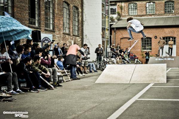 Surf & Skate Festival Hamburg 2013.  Foto: Christoph Leib