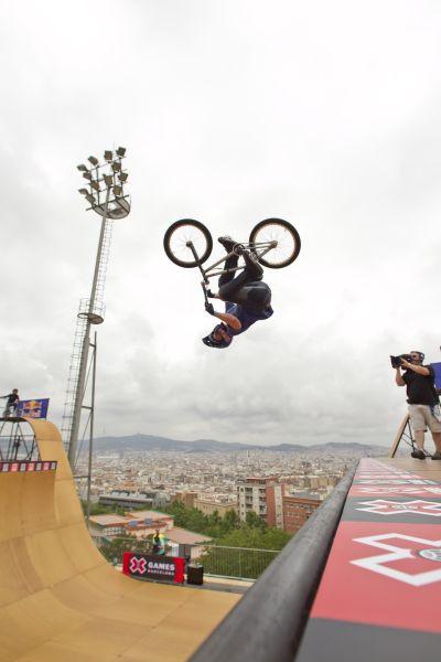 X Games Barcelona: BMX Vert.  Foto: Tomas Zuccareno / ESPN Images