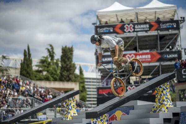 X Games Barcelona: BMX Street.  Foto: Tristan Shu / ESPN Images