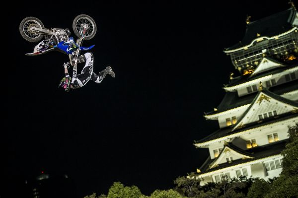 Red Bull X-Fighters Osaka 2013.  Foto: Jason Halayko/Red Bull Content Pool