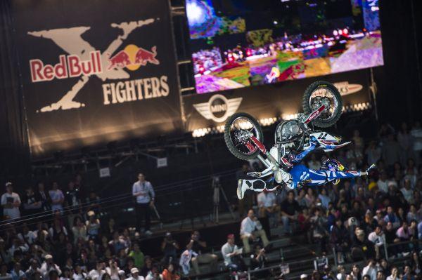 Red Bull X-Fighters Osaka 2013.  Foto: Jason Halayko/Red Bull Content Pool