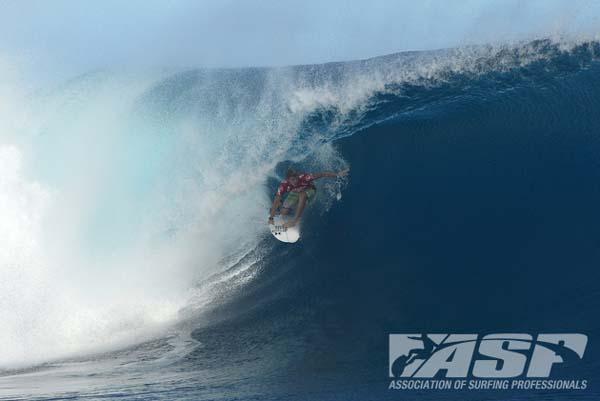 Volcom Fiji Pro 2013: Der Finaltag.  Foto: ASP/Robertson