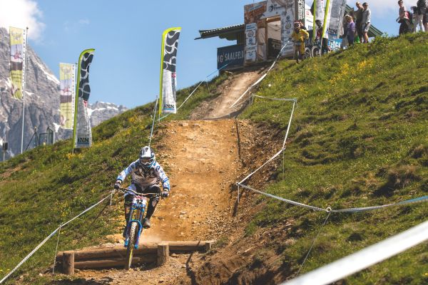 iXS European Downhill Cup.  Foto: Thomas Dietze