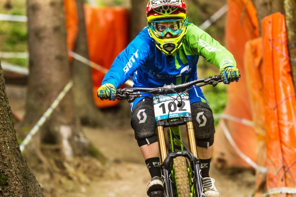iXS Downhill Cup Leogang 2013.  Foto: Thomas Dietze