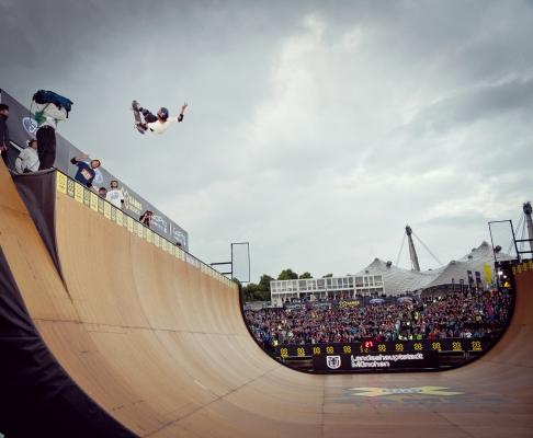 X Games München 2013 Skateboarding.  Foto: Lukas Pilz/Red Bull Content Pool