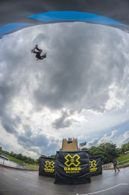 X Games Müchen: Skateboard Big Air.  Foto: Tristan Shu/ESPN Images