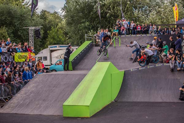 BMX Worlds 2012.  Foto: Chris van Hanja