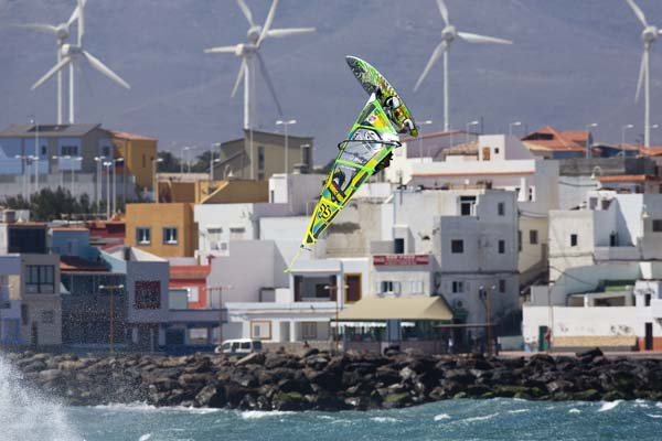PWA World Cup Gran Canaria 2012.  Foto: PWA/John Carter