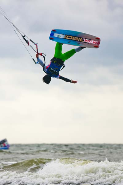 Kitesurf World Cup St. Peter Ording 2013.  Foto: Sebastian Schöffel / HOCH ZWEI