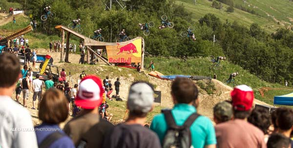 Crankworx Les Deux Alpes 2013.  Foto: Ale di Lullo // FMB World Tour