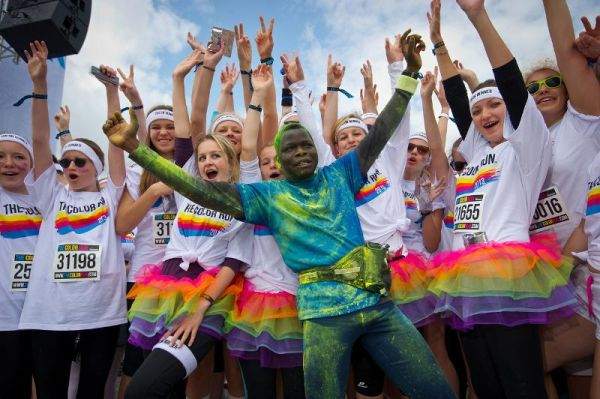 The Color Run 2013.  Foto: THE COLOR RUN™ - fit with REEBOK