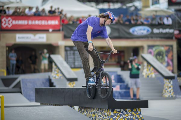 Bruno Hoffmann bei den X Games in Barcelona.  Foto:  Nick Guise-Smith / ESPN Images