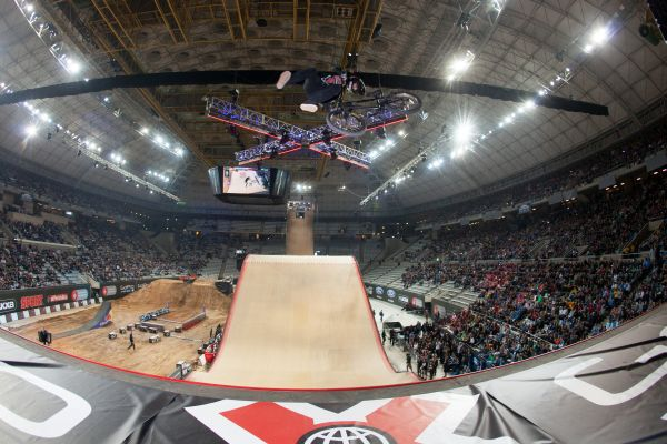 BMX Big Air in Barcelona.  Foto:  Matt Morning / ESPN Images