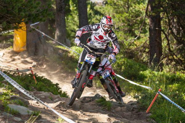 European Downhill Cup Pila.  Foto: Thomas Dietze